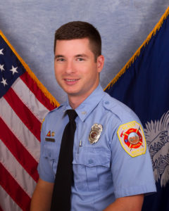 Congratulations to Firefighter Evan Campbell NREMT