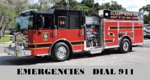 Emergencies Dial 911
